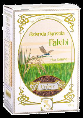 Ermes Riso Rosso Integrale 500 gr   Azienda Agricola Falchi