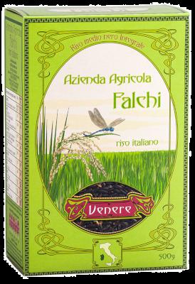 Venere Riso Nero Integrale 500 gr   Azienda Agricola Falchi