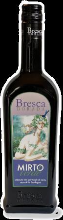 Mirto Verde Liquore di Foglie di Mirto   Bresca Dorada