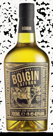 Boigin Saffron Gin   Silvio Carta