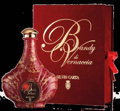 Brandy di Vernaccia Acquavite di Vino Ambrata   Silvio Carta