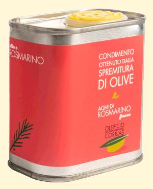 Condimento di Olio e Aghi di Rosmarino Freschi 175 ml   Oleificio Giovanni Matteo Corrias