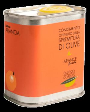 Condimento di Olio e Arance Fresche 175 ml   Oleificio Corrias