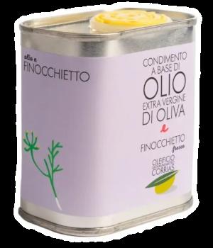 Condimento di Olio e Finocchietto Fresco 175 ml   Oleificio Giovanni Matteo Corrias