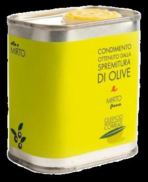 Condimento di Olio e Mirto Fresco 175 ml   Oleificio Giovanni Matteo Corrias