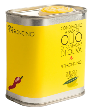 Condimento di Olio e Peperoncino 175 ml   Oleificio Giovanni Matteo Corrias