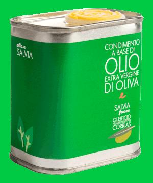 Condimento di Olio e Salvia Fresca 175 ml   Oleificio Giovanni Matteo Corrias