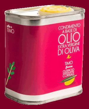 Condimento di Olio e Timo Fresco 175 ml   Oleificio Giovanni Matteo Corrias