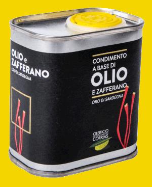 Condimento di Olio e Zafferano 175 ml   Oleificio Giovanni Matteo Corrias