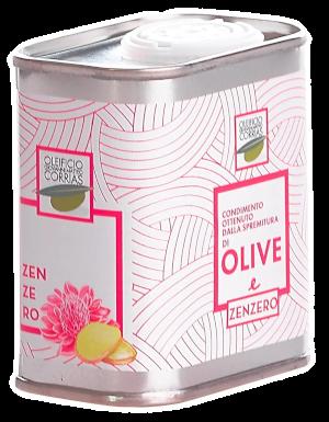 Condimento di Olio e Zenzero 175 ml   Oleificio Giovanni Matteo Corrias