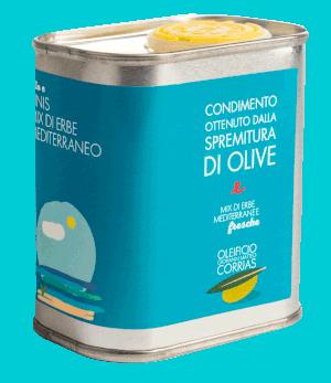 Condimento di Olio ed Erbe del Sinis 175 ml   Oleificio Giovanni Matteo Corrias