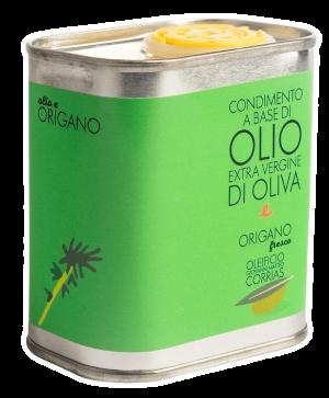 Condimento di Olio ed Origano Fresco 175 ml   Oleificio Giovanni Matteo Corrias