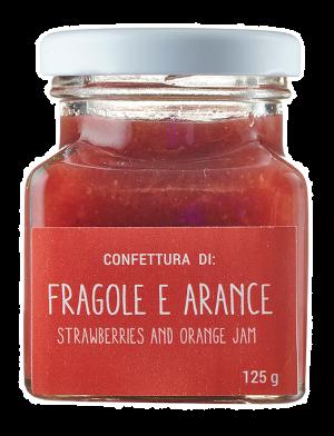 Confettura di Fragole e Arance 125 gr   Mammai