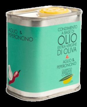 Condimento di Olio Aglio e Peperoncino 175 ml   Oleificio Corrias