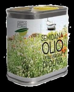 Semidana Latta 175 ml Olio Extravergine di Oliva   Oleificio Giovanni Matteo Corrias