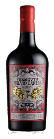 Vermouth Rosso Carta   Silvio Carta